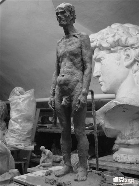 泥塑人体 2